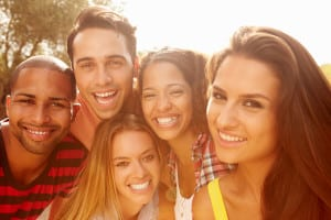 oral health means healthy gums, too