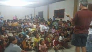 Dr. Evans in Peru 1