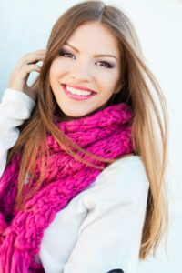 Healthy Smile with Porcelain crown