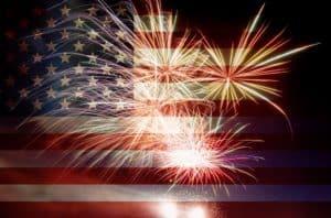 celebrating 4th of july in Reno